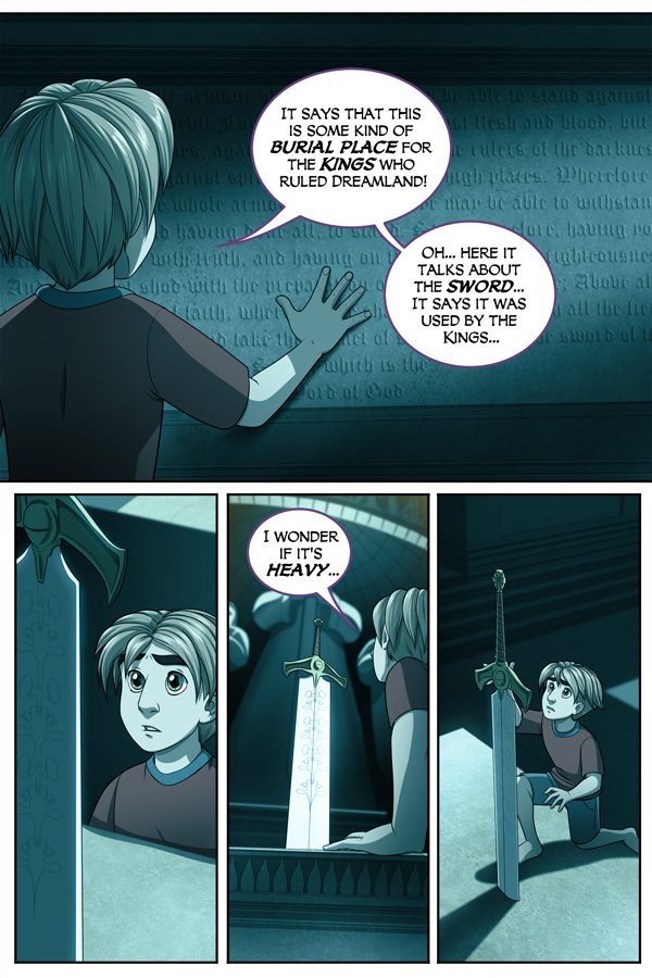 The Dreamland Chronicles Page 20…